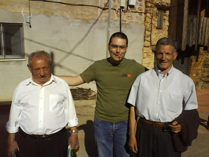 Domingo, Rodrigo y Maxi