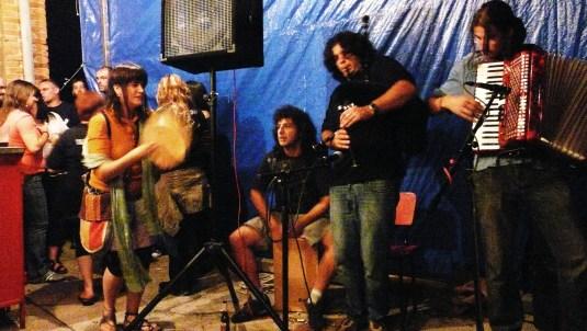 Medulia en la Noche folk de Naredo
