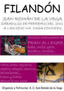 Filandón en San Román de Vega