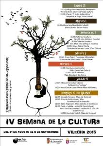 semana de la cultura de vilecha